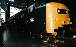 Solihull Model Railway Circle - Class 55 deltic No. 55022 at the National Railway Museum, York