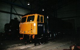 Solihull Model Railway Circle - Class 87 No. 87001 at the National Railway Museum, York